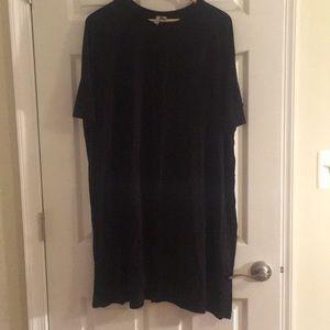 Long Black ASOS T-shirt Dress